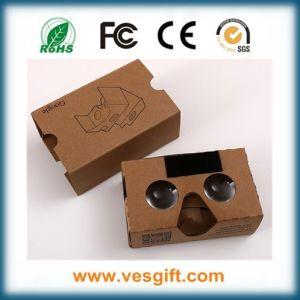 3D Vr Virtual Reality DIY Kit Google Cardboard V2 3D Video Glasses pictures & photos