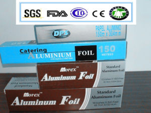 Alloy 8011-0 0.015X100mm 150m Length Aluminum Foil Roll for Household pictures & photos