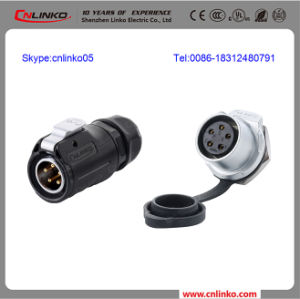 5 Pole Waterproof Connector pictures & photos