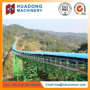 Good Quality Long Distance Curved Belt Conveyor pictures & photos