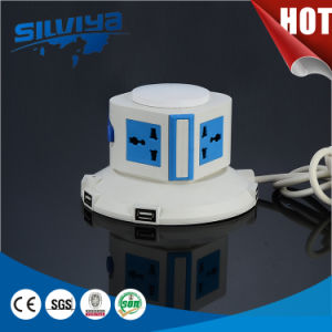 Hot Selling! 2.1mA USB Ports Multi Tower Socket pictures & photos