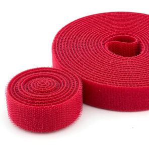 Velcro Cable Tie Colors Custom Size Red Black Color pictures & photos