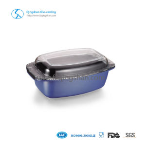 Health Non-Stick Coating Oven Chicken & Fish Roaster Pan pictures & photos