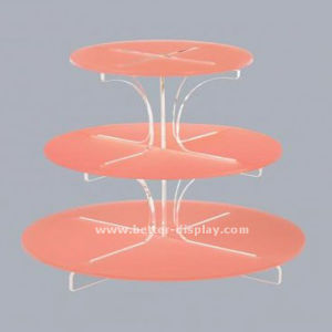Clear Acrylic 6 Tiers Cake Cup Display Stand (BTR-K3004) pictures & photos