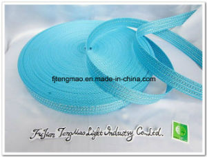 Blue Silver Mixed PP Webbing for School Bags