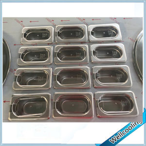 with 12 Trays 2 Pans Ice Cream Roll Machine Flat Pan pictures & photos