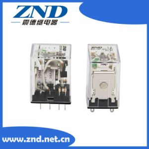 China Transparent Cover Industrial 13f Relay 2c Contact Form 8 Pins