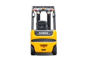 Samuk 2ton Electric Forklift Truck with Zapi AC System pictures & photos