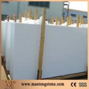 Pure White Crystallized Glass Microlite Nano Crystal Galss Stone Slabs