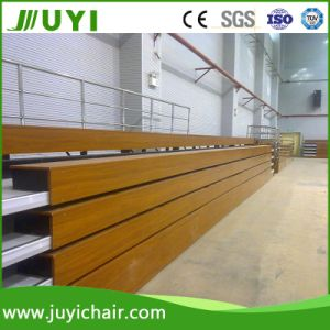 Indoor Wooden Bleacher Bench Bleacher Retractable Bleacher for All Events Jy-705 pictures & photos