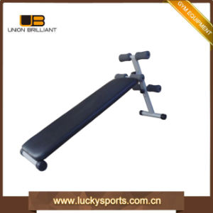 Matifuction Crunchsit up Bench with Rope and Dumbbell Decline Bench Ab Exercises pictures & photos