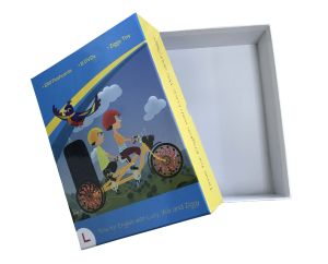 Cardboard Ppaer Package Box/ Book Box pictures & photos