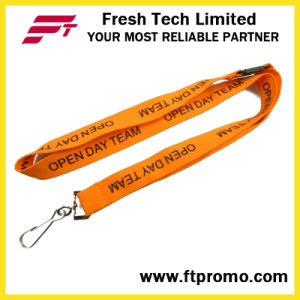 China Cheap Customized Polyester Lanyard with Your Logo pictures & photos