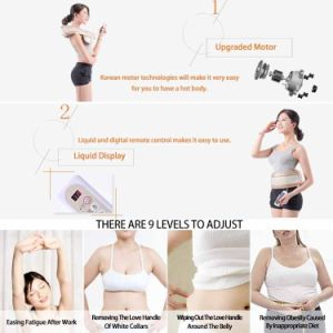 Electric Slimming Body Wrap Belt Products Review with Ce&RoHS MB-18 pictures & photos