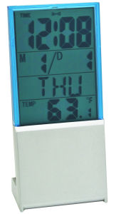 Small Size Digital Clock with Temperature and Date pictures & photos