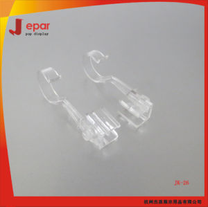 Clear Pop Advertising Shop Plastic Hanging Hook