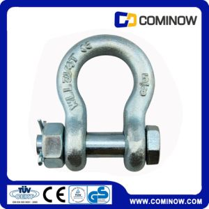 Hot DIP Galvanized G2130 Bow Shackle with Safety Pin