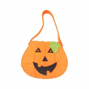 100% Felt Gift Halloween Candy Bags for Halloween Decorations