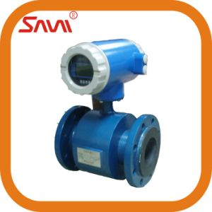 Waste Water Rubber Lining Electromagnetic Flow Meter From China