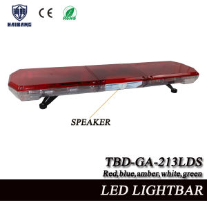 China red led lightbar built in speaker with linear lens for red led lightbar built in speaker with linear lens for ambulance and fire truck tbd ga 213lds aloadofball Image collections