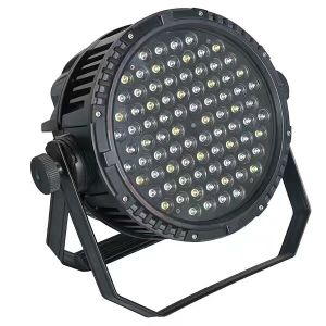 Guangzhouyuzhan IP67 Waterproof PAR Lighting, Super Quality 3W RGBW IP67 84PCS LED Outdoor PAR Lights for Sale