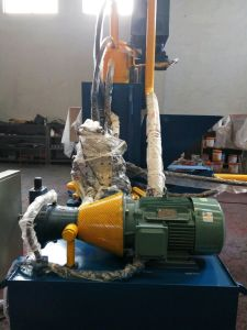 Iron Chippings and Shavings Hydraulic Briquetting Press Metal Scrap Briquette Machine-- (SBJ-200B) pictures & photos