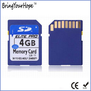 Full Real Capacity High Speed 4GB SD Memory Card (4GB SD) pictures & photos