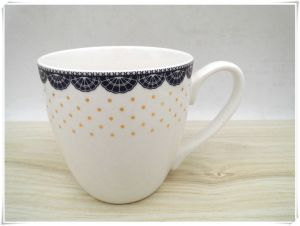 Ceramic Glazed Coffee Mugs pictures & photos
