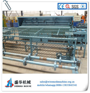Galvanizde Wire Automatic Chain Link Fence Machine pictures & photos