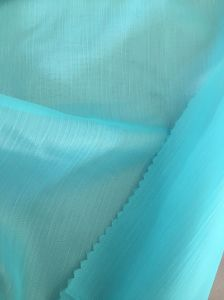75D Polyester Solid Color Crepe Wrinkle Chiffon Fabric pictures & photos