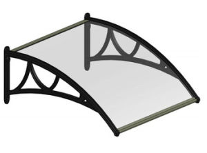 Door Canopy Waterproof Polycarbonate Plastic Window Awning