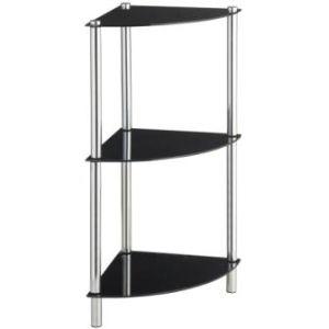 Display Side End Table Gl Shelf Rack