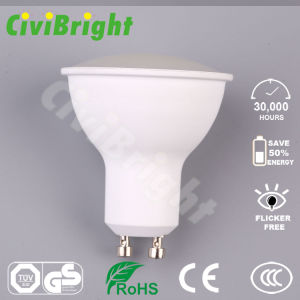 5W GU10 LED Bulb Dimmable PC Cover Smooth Curve LED Lamp Spotlight pictures & photos