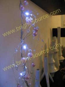 20L LED Acrylic Beads Garland (LDZ091703)
