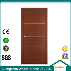 Comtemporary Europe Flush Primed Solid Wooden Door for Interior Room pictures & photos