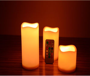 LED Round Flameless Candles Cheap Price pictures & photos