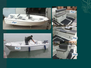 Liya 17 Feet China Fiberglass Fishing Boast Panga Boats pictures & photos