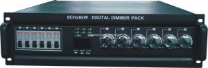DMX Digital Dimmer Pack / Controller Box (MSL-8001B)