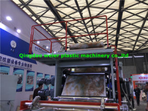 High Gloss UV Decorative PVC Marble Sheet Production Line pictures & photos