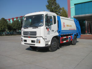 Dongfeng Tianjin Refuse Compression Truck
