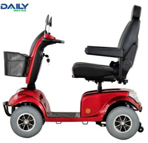 Ce Comfortable 24V 800W 4 Wheels Mobility Scooter for Handicapped pictures & photos