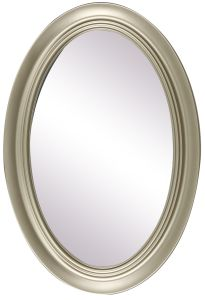 PS PU PP ABS Home Decor Wall Bathroom Oval Frame Mirror