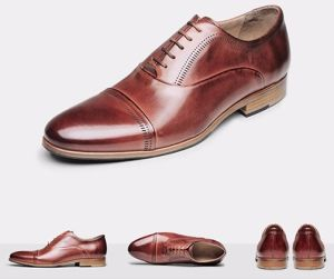 538bb8a8312 China Cow Leather Male Formal Shoes for Men