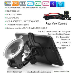 "New 5.0"" Android Car Tablet PCS MID with Car DVR, 5.0mega Car Digital Video Camera, Parking Rearview Camera, Bluetooth, FM-Transmitter, AV-in, WiFi pictures & photos"