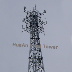 Galvanized Self-Support Telecom Lattice Tower