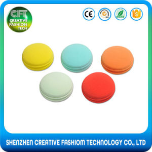 Free Sample Hot Selling Macaron Shape Colorful Cosmetic Beauty Sponge Blender pictures & photos