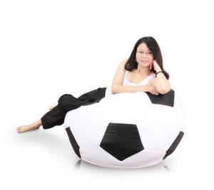 S Cool Bean Bag Sports Soccer Leisure Ball Chair