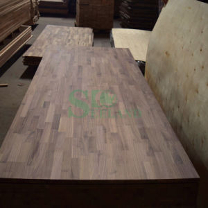 Black Walnut Finger Jointed Board for Furniture pictures & photos