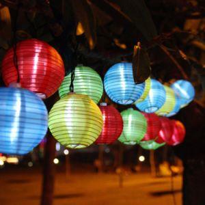 China Paper Lanterns String Lights