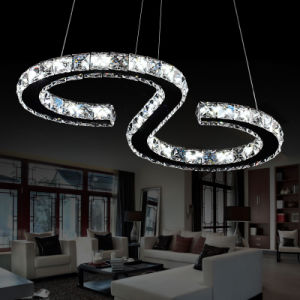 23W Crystal Indoor Pendant Lighitng for Home Decoration